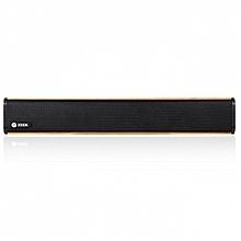 ZB-Music Bar - Bluetooth Speaker - AUX/USB - 24W - Brown