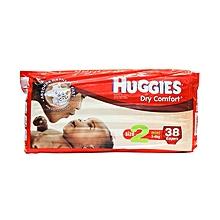 Dry Comfort Diaper Size:2 (3-6Kg) - 38 Diapers