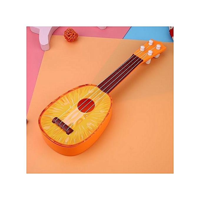 Fruit Shaped Ukulele Acoustic Guitar Kids Playing Funny Toy Musical  Instruments