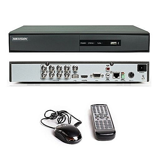 Turbo HD 8 channel DVR DS-7208HGHI-F1 (black)