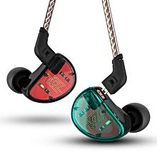 KZ AS10 HIFI 5BA Balanced Armature Driver Earphone 3.5mm Wired Control Bass Stereo Headphone