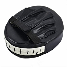 Boxing Mitt Training Target Focus Punch Pad Glove(Black)