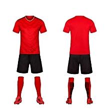 65c78b2f1e3 Red-High Quality Children Boy And Men  039 s Football Soccer Team Training