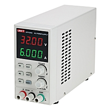 UNI-T Switching DC Power Supply 4 Digits Display LED 0-32V 0-6A High Precision Adjustable Mini Power Supply AC 220V 50Hz