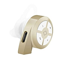 Mini V4.0 Wireless Stereo Earphones Bluetooth Earphone Handfree For IPhone Samsung(Gold)