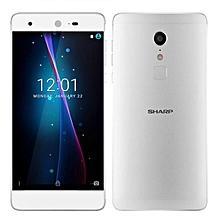 SHARP Z2 5.5 Inch 4GB RAM 32GB ROM Helio X20 MTK6797 2.3GHz Deca Core 4G Smartphone Silver