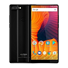Mix 2 6-inch (4GB, 64GB ROM) Android 7.0 Nougat, 13MP & 5MP + 8MP, 4200mAh, Dual Sim 4G LTE Smartphone - Black