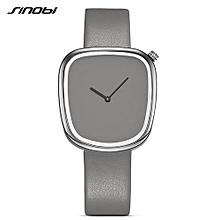 design women fashion creative watches 4 leather colors neutral irregular ladies quartz wristwatch relogio feminino l67