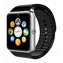 GT08 - Bluetooth Smart Watch with Camera -Silver
