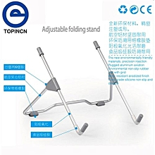 Universal Adjustable Portable Foldable Metal Holder Stand For PC Tablet Laptop Notebook