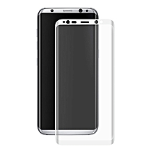 ENKAY 0.26mm 9H 3D Arc Edge Colored Tempered Glass Screen Protector For Samsung Galaxy S8 Plus