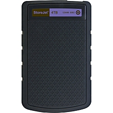 "4TB Store Jet 2.5"" H3P Portable HDD -  Black & Purple"