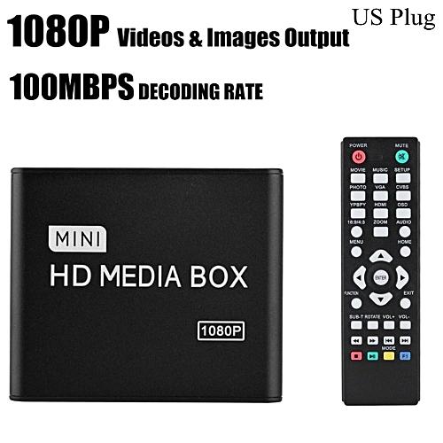 HDMI Media Player Stereo Surrounding Media Player Center 1080P AV/YPrPb/HDMI Output -