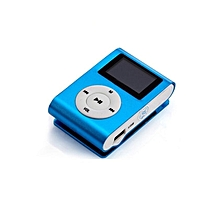 MP3 Player With Display and FM- Blue