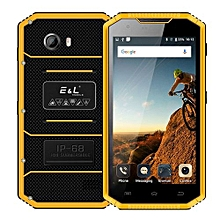 Proofing W7S, 2GB+16GB, IP68 Waterproof Shockproof Dustproof, 5.0 Inch Android 6.0, Network: 4G, MIL-STD-810G Certification Smart Phone(Yellow)