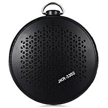 JKR - 3302 Outdoor IPX4 Water-resistant Bluetooth Speaker TF Card AUX Music Player