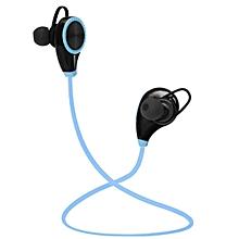 Sports tooth Device Sweatproof Wireless Stereo Headsets Headphone-Blue
