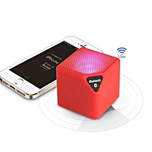 Mini-X3 Cube Bluetooth Speaker Outdoor Bass Stereo Subwoofer-Durable 3W