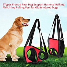 Dog Support Harness Pet Walking Aid Lifting Pulling Vest For Old & Injured Dogs(Front Leg M)