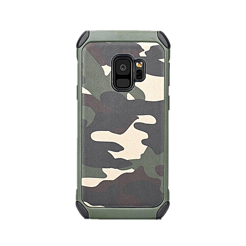 timeless design fb3ce 61e18 Phone Case For Samsung Galaxy S9 + / S9 Plus ,3 In1 Armor Hybrid PC & TPU  Army Camo Camouflage Rear With Special Shockproof Angle Phone Cover For ...
