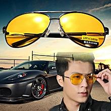 Fashion UV400 Polarized Anti-Glare Night Car Driving Men Eyeglasses Sunglasses