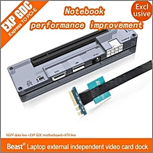 V8.0 EXP GDC Laptop External Independent Video Card Dock NGFF PCI-E For Beast