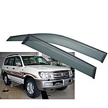 Car Windbreaker/ Window Visor 4pcs for Land Cruiser
