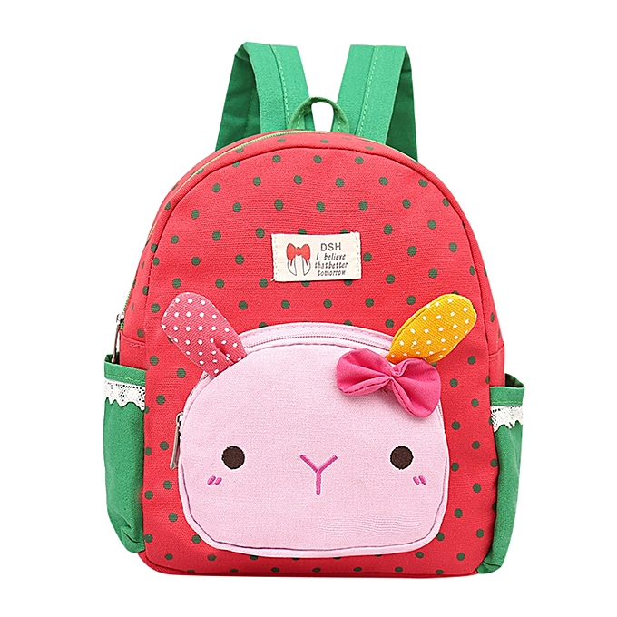... Hiamok Children Baby Girls Boys Kids Cartoon Rabbit Animal Backpack  Toddler School Bag e348ac2df7417
