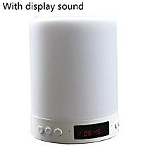 Wireless Bluetooth Speaker Mini Smart Pat Light Alarm Clock Colorful Night Light Speaker-Array