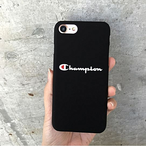 wholesale dealer de61a 8206f Champion Black iPhone 6 Plus Case - Stylish Case for All Round protection