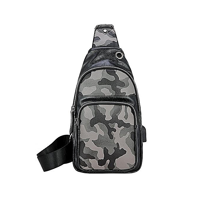 Men s shoulder bag pockets youth small backpack Messenger bag Korean  version of the tide brand casual 2960306193e1e
