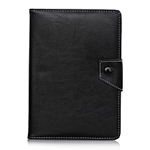 7 Inch Universal Tablet Case Imitation Leather Stand Protective Cover black