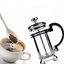 350ml French Coffee Pot Press Coffee Pot Percolator Stainless Steel Manual Coffee Tea Pot