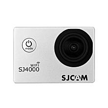 SJ4000 WiFi 1080P 1.5 inch LCD Action Camera Sport DV UK Plug - Silver