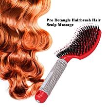 Pro Detangle Hairbrush Women Hair Scalp Massage Comb Dry & Wet Hair Brush for Hairdressing Salon Home Use