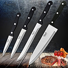 4pc MYVIT Stainless Steel Knife Set 3CR13 Kitchen Knife Cook Japanese Kitchen Knife Sharp Meat