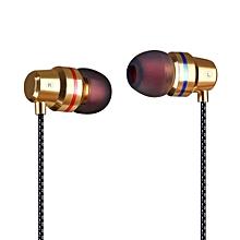 DM1 3.5mm Wired Headphones In Ear Dynamic Stereo Music Earphone Heavy Bass Headset Hands-free w/ Microphone Storage Box xYx-S
