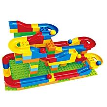 Big Size Track Building Block Educational Gift Fidget Toys 72Pcs-