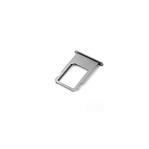 new style 979e3 d5f16 For iPhone 6S 6 7 8 Plus Alloy Nano SIM Card Holder Tray Slot Side Volume  Mute Power Keys Button Replacement Part SIM Card Holder Adapter Socket