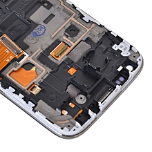 Lcd Screen With Frame Touch Screen Lcd Display Complete Screen Assembly Replacement Parts Blue For Samsung Galaxy S4 Mini