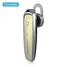 Fineblue FX - 1 In-ear Headset Bluetooth V4.1 Wireless Hands Free Earphone - GOLD