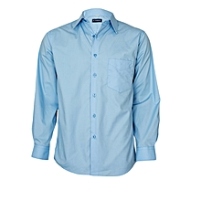 Baby Blue Long Sleeved Shirt