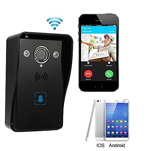 Generic Wireless WiFi Video Door Phone Doorbell Remote Phone Intercom IR  Night Vision US