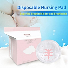 Real Bubee 100Pcs Disposable Spill-proof Nursing Pad Breastfeeding Pads For Mothers