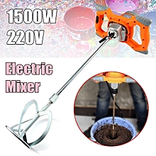 1500W 220V Electric Plaster Mixing Paint Stirrer Rotary Hand Drill Mortar Whisk