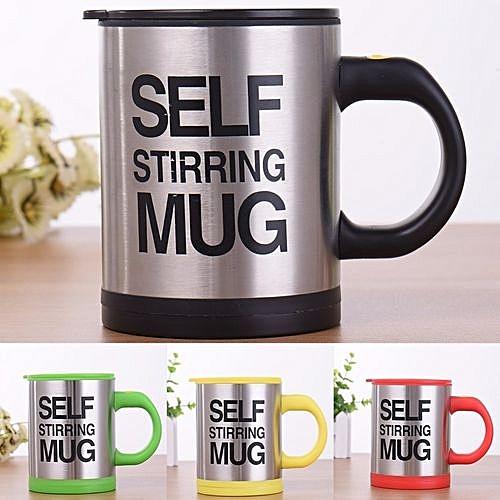 9dc88dbe9cb Self Stirring Coffee Cup Mugs Double Insulated Coffee Mug 400 ML Automatic  Electric Coffee Cups Smart Mugs Mixing Coffee Cup