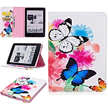 Folding Stand Painted Leather Case Cover For Amazon Kindle Voyage 6.0 Inch