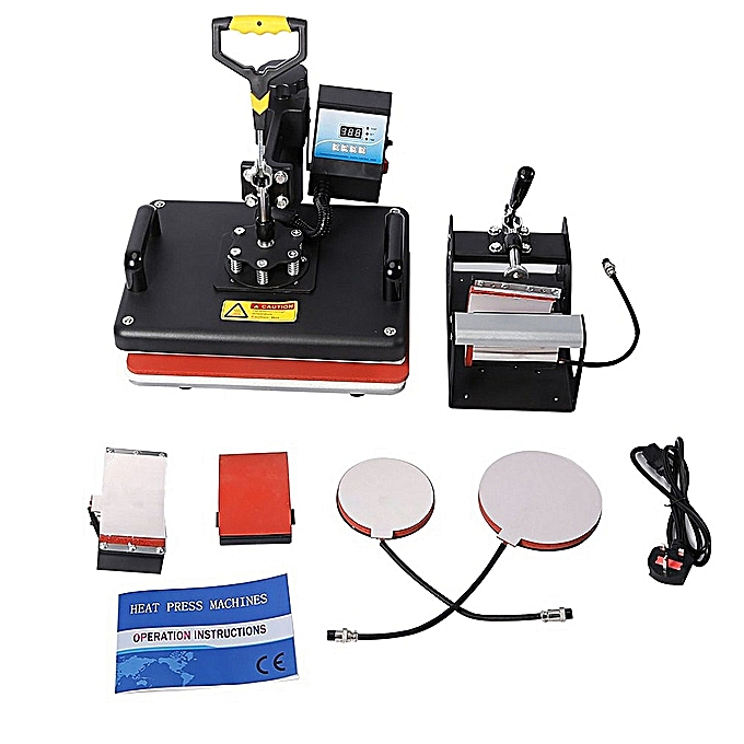 Heatpress machine (5in1)