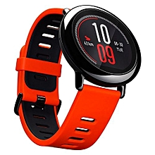 AMAZFIT Xiaomi IP67 Waterproof Zirconia Ceramics Bluetooth GPS Heart Rate Monitor Watch Red