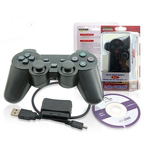 Wireless Vibration Controller 3 in1 Game Pad- PC / PS2 / PS3 Gamepad
